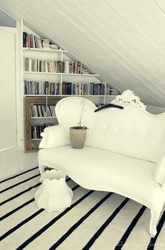 9 Considerate Cool Tips: Attic Apartment Diy attic house design.Finished Attic Tips victorian attic conversion. Decor, House, Small Spaces, Interior, Home, Decorating Small Spaces, Small Attic Room, Scandinavian Decor, Interior Design