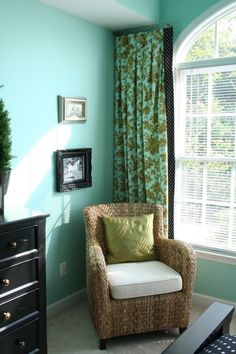 Paint is Copper Patina by Benjamin Moore...this is what I'm thinking for the baby's room