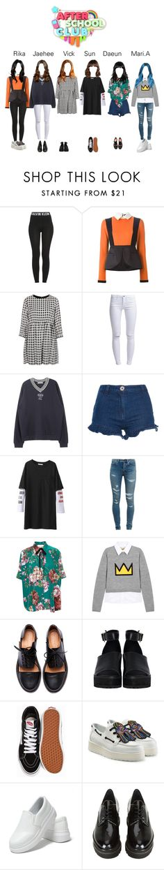 """""""StarZ are After School Club"""" by starz-official ❤ liked on Polyvore featuring Calvin Klein, Giulietta, Topshop, ONLY, Manoush, Yves Saint Laurent, Gucci, Alice + Olivia, Minimarket and The WhitePepper"""