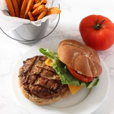 This simple and healthy turkey burger recipe will become your new favorite. These low-fat burgers are FULL of flavor and should be a staple at any BBQ!