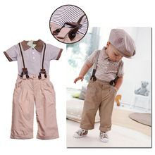 european american gentleman children clothes kids shirt pant suit clothing set for baby boys Christmas gifts suit 2pics/suit(China (Mainland))
