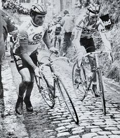 Sean Kelly on the Koppenberg