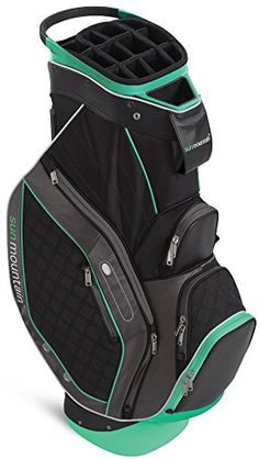 f9058ed764b3 Sun Mountain Women s Diva Golf Cart Bag Black   Storm   Aqua 2015 New