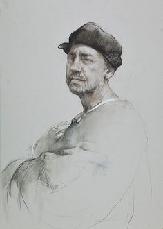 VIDEO presentation - Life Drawings by Nikolai Blokhin, a contemporary fine artist from Russia, who keeps the old traditions of the Russian art school alive. Life Drawing, Figure Drawing, Painting & Drawing, Graphite Art, Graphite Drawings, Portraits, Portrait Art, Sketchbook Drawings, Art Drawings