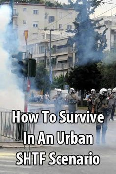 If you go to a protest, you need to wear the right clothes, carry the right equipment, know how to protect yourself from tear gas, and know how to escape.
