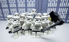 Group selfie... How can you not love the stormtroopers?!