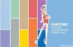 Recipiente Moda: Cartela de Cores Verão 2015: Pantone