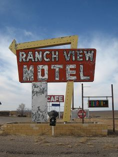 Vintage Motel Sign-Vaughn, New Mexico by amberpresley, via Flickr