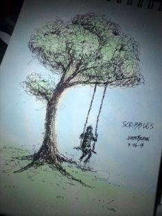 Scribbles by JBMcKnight.deviantart.com on @deviantART