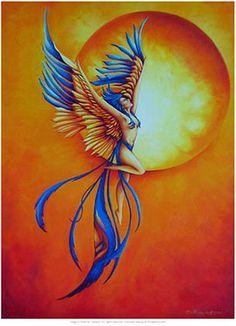 Phoenix Bird Art | ... Ashes, by Teri Rosario. . . — Buy this art print at AllPosters.com