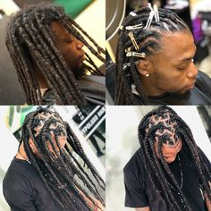 Discover recipes, home ideas, style inspiration and other ideas to try. Dreadlock Hairstyles For Men, Medieval Hairstyles, Mens Dreadlock Styles, Dreads Styles, Black Men Haircuts, Black Men Hairstyles, Nice Hairstyles, High Top Dreads, Dreadlocks Men