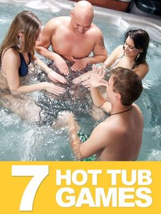 7 Addicting Hot Tub Games You Can Play With Family and Friends