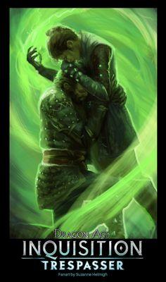 Dragon age Inquisition, Tresspasser fan art., Suzanne Helmigh on ArtStation at https://www.artstation.com/artwork/NY9oz