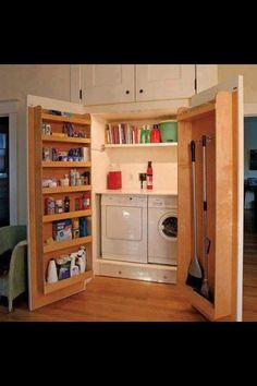 Great idea. In our house we buy one day, if this is possible i so want to do some thing like this.  I think it would be easy to keep clean and keep evetything together.