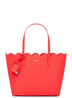 Cute scallop tote by kate spade