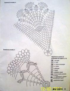 "Photo from album ""Moje robotki фото"" on Yandex. Crochet Doily Diagram, Crochet Mandala, Crochet Doilies, Thread Crochet, Crochet Stitches, Mantel Redondo, Crochet Fairy, Web Magazine, Snowflakes"