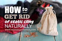 Static Cling Is Really Useful Stuff . . . You can use it to do party tricks, shock family members like you did when you were little (remember footie pajamas?), and even turn your cat into a mobile wallet . . . But when it comes to laundry, static cling is decidedly not useful. …