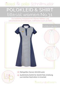 Ebook / Schnittmuster lillesol women No.31 Polokleid & -Shirt