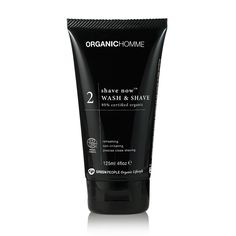 Organic Homme 2 Shave Now Wash & Shave | For men from Green People | Vegan Skin Care from Green People