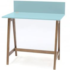 Luka Writing Desk 110cm Ragaba • WOO .Design Home Office, Wooden Drawers, Study Space, Cable Management, Writing Desk, Foot Rest, Organization, Furniture, Design
