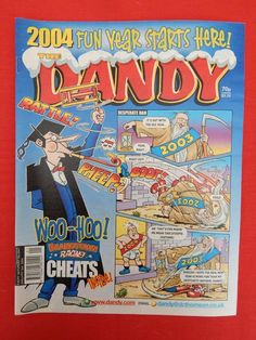 Dandy Christmas/NY edition Comic 3rd January 2004 - Nostalgic/retro gift - VGC