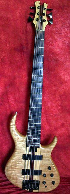 Tobias 1989 Basic 6-String, Indian Rosewood Fingerboard