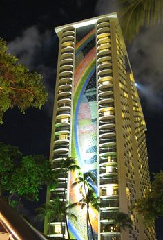 Rainbow Tower - Hilton Hawaiian Village. The absolute most comfortable beds and amazing grounds in Oahu!!