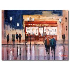 'Opening Night' by Ryan Radke Painting Print on Canvas