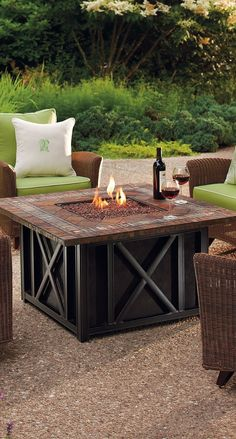 Make any outdoor setting more inviting with our Springfield Fire Table.