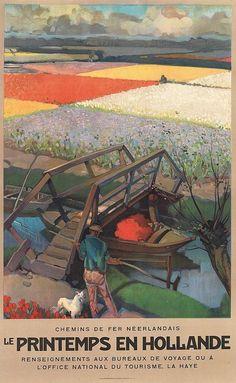 LE PRINTEMPS EN HOLLANDE / ca. 1930