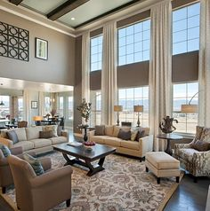 Family room furniture significantly affects its elegance. As a result, choose the most effective family room furniture. In addition, you additionally need to take note of the family room furniture layout to make it more maximal. Living Room Remodel, Home Living Room, Living Room Designs, Large Living Rooms, Small Living, Kitchen Open To Living Room, Living Area, Large Family Rooms, Buy Kitchen