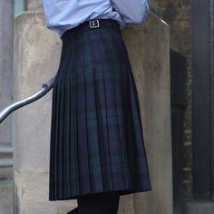 Knee Length Kilt Black Watch