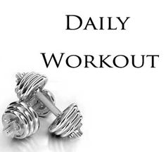 daily workout for beginners- circuit training