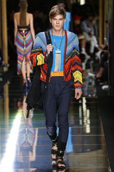 Balmain | Menswear - Spring 2017 | Look 48