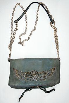 GUESS Handbag, Tasya Box Satchel Turquoise Multi