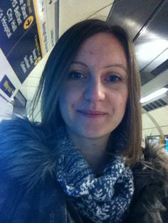 Keeping it stylish on the daily tube commute - the Wool & Water Festive Snood. Knitted in Lambswool & a spot of Sparkle.