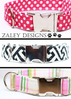 Spotlight Feature // Zaley Designs, dog collars | Oh Everything Handmade zaleydesigns.etsy.com