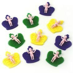 Mardi Gras King Cake Baby Cupcake Toppers  12 pcs *** Continue to the product at the image link.  This link participates in Amazon Service LLC Associates Program, a program designed to let participant earn advertising fees by advertising and linking to Amazon.com.