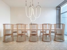 Modern Linear LED Chandelier TNK.01 by TANK Architects Amsterdam for Label NOON noonfurniture.com