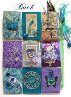 Peacock Theme Pocket Letter Back
