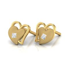 Amadora Heart Earrings