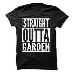 (Tshirt Best Sale) Straight Outta Garden Awesome Team Shirt Discount Hot Hoodies Tee Shirts