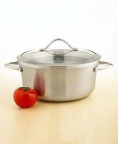 Calphalon Contemporary Stainless Steel Soup Pot, 6.5 Qt. - Cookware - Kitchen - Macy's