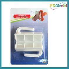 A simplest way to prevent finger pinch by slamming shut door: Portable plastic door guard for #babysafety