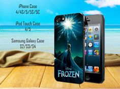 Disney Frozen Samsung Galaxy S2/S3/ S4 case, iPhone 4/4S / 5/ 5s/ 5c case, iPod Touch 4 / 5 case on Etsy, $13.79