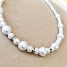 Creme Brulee Pearl Necklace
