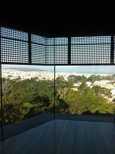 Observatory at The DeYoung Museum Golden Gate Park, Through The Looking Glass, Architecture Design, San Francisco, Museum, Windows, Studio, Architecture Layout, Studios
