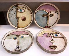 ANASTASAKI Small Wall Sculptures Τοίχος -Μικρές Συνθέσεις διακοσμητικά   Anastasaki Ceramics