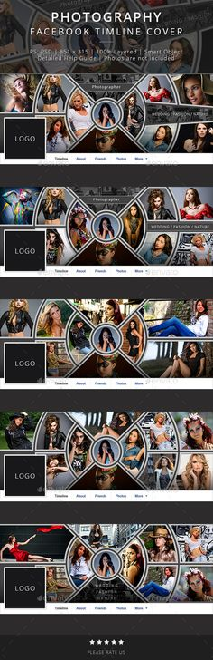 Photography Facebook Timeline Cover Template #design Download… Cover Template, Banner Template, Cool Cover Photos, Line Photo, Web Design, Graphic Design, Facebook Timeline Covers, Fb Covers, Design Development