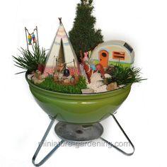 Best gardening ideas mermaid and beach themed fairy garden (32) #fairygardening